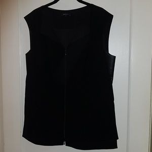 Lafayette 148 fitted vest